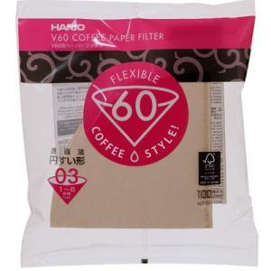 ハリオ V60用ペーパーフィルターみさらし VCF-03-100M|nanbucoffee