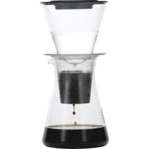 期間限定コーヒー付き iwaki パイレックスウォータードリップコーヒーサーバー 8644-CL|nanbucoffee