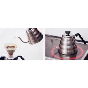ハリオ V60コーヒードリップケトル・ヴォーノ VKB-120HSV|nanbucoffee|03
