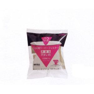 ハリオ V60用ペーパーフィルター酸素漂白 VCF-02-100W|nanbucoffee