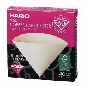 ハリオ V60用ペーパーフィルターみさらし VCF-01-40M|nanbucoffee