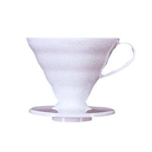 ハリオ V60透過ドリッパー02 ホワイト(PP製) VD-02W nanbucoffee