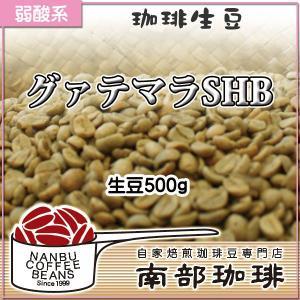 グァテマラSHB(生豆500g)|nanbucoffee