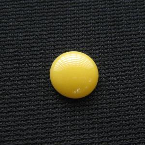 シャッター・ボタン・ぽっち 黄色 凹底面 10型 000001|nandemo-glass-kan