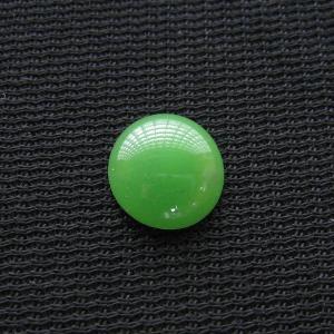 シャッター・ボタン・ぽっち 黄緑色 凹底面 10型 000003|nandemo-glass-kan