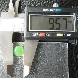 シャッター・ボタン・ぽっち 黄緑色 凹底面 10型 000003|nandemo-glass-kan|04