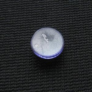 シャッター・ボタン・ぽっち 透明すみれ色 凹底面 10型 000005|nandemo-glass-kan|02