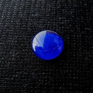 シャッター・ボタン・ぽっち 透明青色 凹底面 10型 000008|nandemo-glass-kan