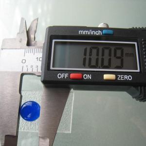 シャッター・ボタン・ぽっち 透明青色 凹底面 10型 000008|nandemo-glass-kan|03