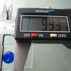 シャッター・ボタン・ぽっち 透明青色 凹底面 10型 000008|nandemo-glass-kan|04