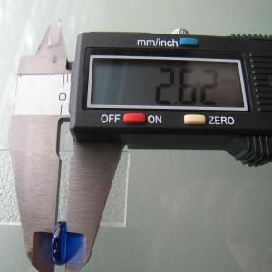 シャッター・ボタン・ぽっち 透明青色 凹底面 10型 000009|nandemo-glass-kan|05