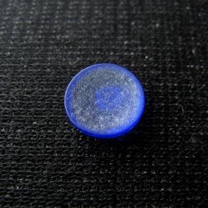シャッター・ボタン・ぽっち 透明青色 凹底面 10型 000010|nandemo-glass-kan|02
