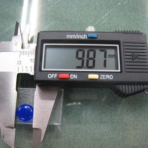 シャッター・ボタン・ぽっち 透明青色 凹底面 10型 000010|nandemo-glass-kan|03