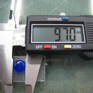 シャッター・ボタン・ぽっち 透明青色 凹底面 10型 000010|nandemo-glass-kan|04