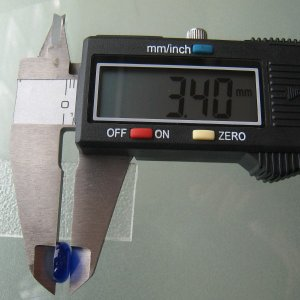 シャッター・ボタン・ぽっち 透明青色 凹底面 10型 000010|nandemo-glass-kan|05