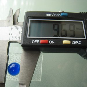 シャッター・ボタン・ぽっち 透明青色 凹底面 10型 000011|nandemo-glass-kan|04