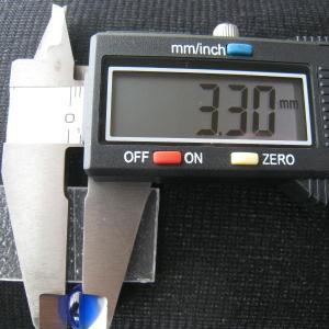 シャッター・ボタン・ぽっち 透明青色 凹底面 10型 000011|nandemo-glass-kan|05