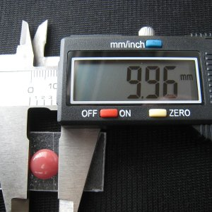 シャッター・ボタン・ぽっち 赤珊瑚色 平底面 10型 000013|nandemo-glass-kan|04