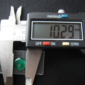 シャッター・ボタン・ぽっち 透明緑色 凹底面 10.5型 000014|nandemo-glass-kan|03
