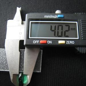 シャッター・ボタン・ぽっち 透明緑色 凹底面 10.5型 000014|nandemo-glass-kan|05