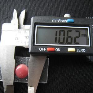 シャッター・ボタン・ぽっち 赤珊瑚色 凹底面 11型 000017|nandemo-glass-kan|04