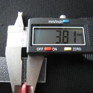 シャッター・ボタン・ぽっち 赤珊瑚色 凹底面 11型 000017|nandemo-glass-kan|05