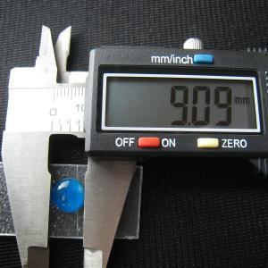 シャッター・ボタン・ぽっち 透明水色 平底面 9型 000018|nandemo-glass-kan|04