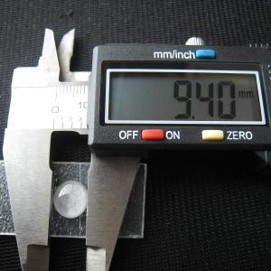 シャッター・ボタン・ぽっち 無色透明 平底面 10型 000019 nandemo-glass-kan 04