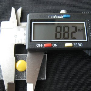 シャッター・ボタン・ぽっち 黄色 凹底面 9型 000020|nandemo-glass-kan|04