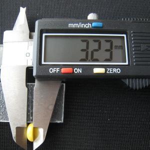 シャッター・ボタン・ぽっち 黄色 凹底面 9型 000020|nandemo-glass-kan|05
