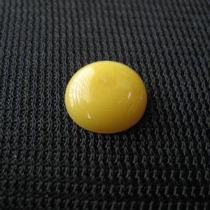 シャッター・ボタン・ぽっち 黄色 凹底面 10型 000021|nandemo-glass-kan