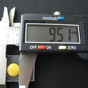 シャッター・ボタン・ぽっち 黄色 凹底面 10型 000021|nandemo-glass-kan|04