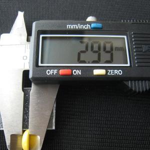 シャッター・ボタン・ぽっち 黄色 凹底面 10型 000021|nandemo-glass-kan|05