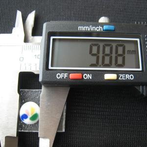 シャッター・ボタン・ぽっち 白ベース柄入 平底面 10型 000023|nandemo-glass-kan|04