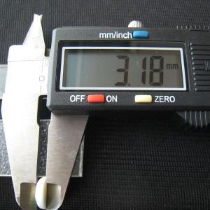シャッター・ボタン・ぽっち 白ベース柄入 平底面 10型 000023|nandemo-glass-kan|05