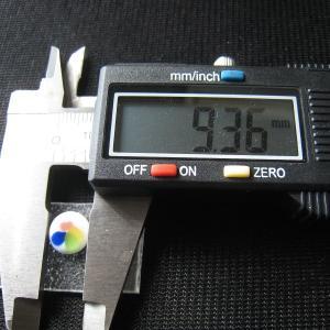 シャッター・ボタン・ぽっち 白ベース柄入 凹底面 9.5型 000024 nandemo-glass-kan 04