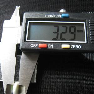 シャッター・ボタン・ぽっち 白ベース柄入 凹底面 9.5型 000024 nandemo-glass-kan 05