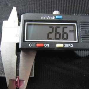 シャッター・ボタン・ぽっち 透明濃いピンク色 凹底面 8.5型 000030|nandemo-glass-kan|05