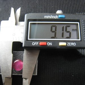 シャッター・ボタン・ぽっち 透明濃いピンク色 凹底面 9.5型 000034|nandemo-glass-kan|04