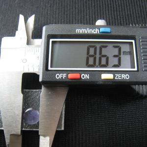 シャッター・ボタン・ぽっち 透明すみれ色 凹底面 8.5型 000036 nandemo-glass-kan 03