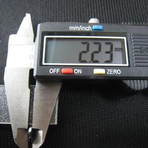 シャッター・ボタン・ぽっち メタリック黒色 凹底面 9型 000038|nandemo-glass-kan|05