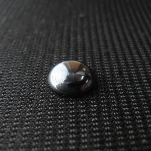 シャッター・ボタン・ぽっち メタリック黒色 平底面 9型 000039|nandemo-glass-kan