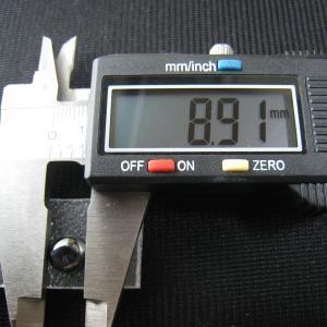 シャッター・ボタン・ぽっち メタリック黒色 平底面 9型 000039|nandemo-glass-kan|03