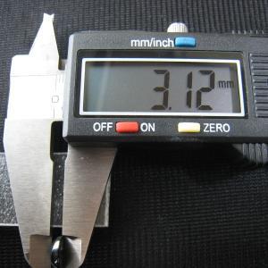 シャッター・ボタン・ぽっち メタリック黒色 平底面 9型 000039|nandemo-glass-kan|05