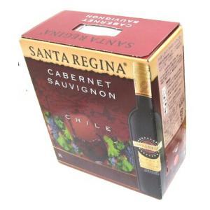 サンタ・レジーナ 赤 カベルネソーヴィニヨン BIB 3L wine red