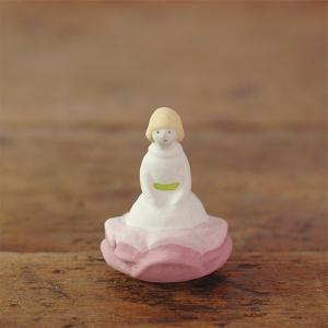 倉敷意匠計画室 下川原焼のにしおゆき人形「親指姫」|nandk-shop