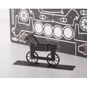 倉敷意匠計画室 紙製自転車 模型キット(セレリフェール)1/24スケール|nandk-shop
