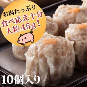 創業60年伝統の味 南国酒家 焼売 大粒10個入り(45g×10個) 冷凍|nangokusyuka