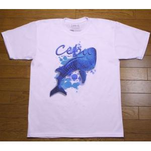 フィリピンで定番のお土産のセブ島T シャツです。 観光客に大人気のブランドです。  正面のみ柄があり...