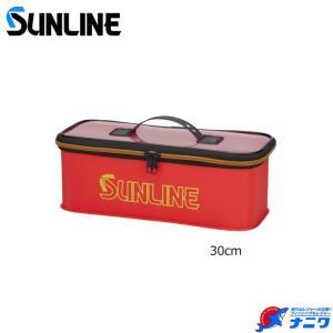 サンライン 仕掛けBOX SFB-108 レッド 30cm naniwa728